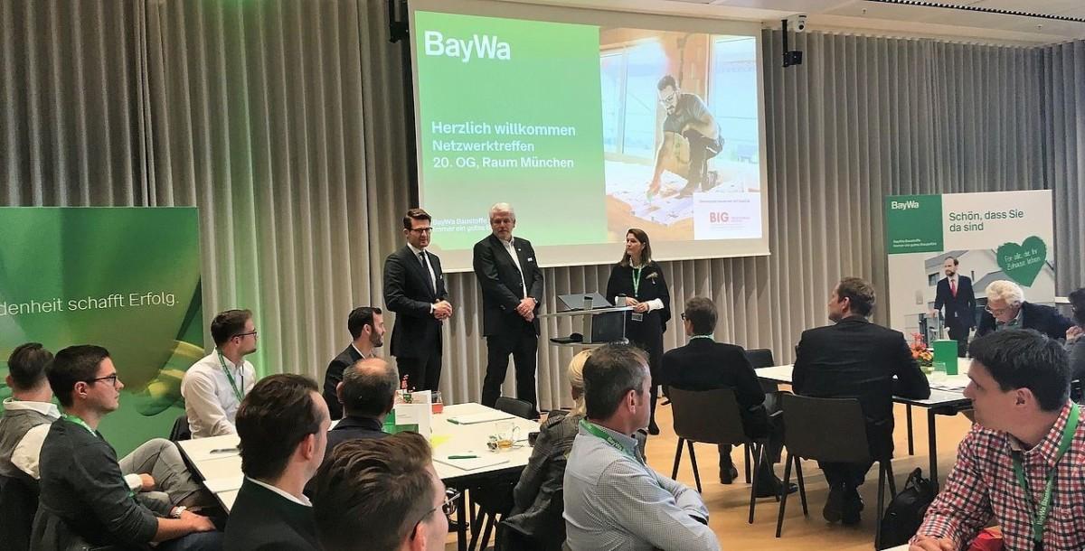 Premiere Für Das Erste Netzwerktreffen Von BayWa Baustoffe